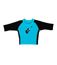 i play.® Boys' Aqua Guitar 3-Quarter Sleeve Rashguard