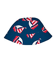 i play.® Boys' Navy Sailboat Sun Protection Bucket Hat