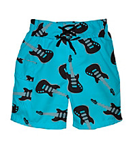 i play.® Boys' Aqua Guitar Ultimate Swim Diaper Pocket Trunks
