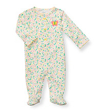 Carters'® Baby Girls' Multi Ditsy Floral Cotton Footie