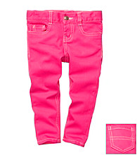 OshKosh B'Gosh® Girls' 2T-4T Pink Skinny Pants