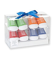 Cuddle Bear® Baby Boys' Bright 4-pk. Sneaker Socks