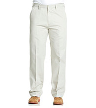 Haggar® Men's Straight Fit Life Khaki Trouser