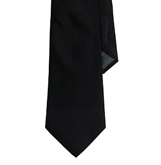 Lauren® Men's Black Ascot Necktie