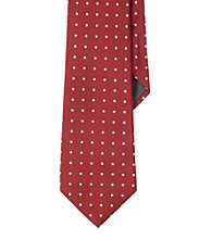 Lauren® Men's Red Jacquard Dot Necktie