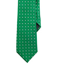 Lauren® Men's Kelly Jacquard Dot Necktie