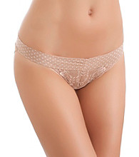 b.tempt'd® by Wacoal® Bel Fiore Bikini - Au Natural Vanilla Ice Dot