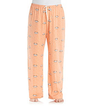 HUE® Melon Plus Size Lovebirds Knit Pants