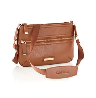 Calvin Klein Leather Convertible Crossbody