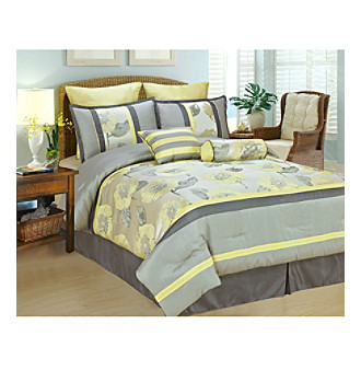 Peony 8-pc. Comforter Set by PHF Linens