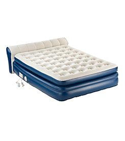 AeroBed® Premier Queen Airbed with Attached Headboard and Built-In Pump