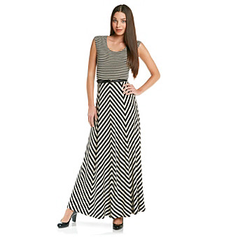 Calvin Klein Striped Maxi