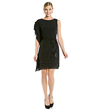 Vince Camuto® Box Layered Dress