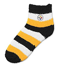 For Bare Feet Pittsburgh Steelers Sleep Soft Socks