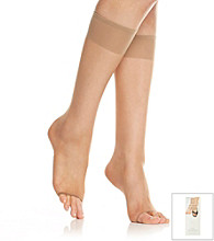 Berkshire® Natural Toeless Knee-High Stockings