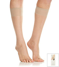 Berkshire® Nude Toeless Knee-High Stockings