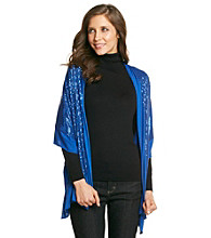 Collection 18 Solid Sequin Wrap