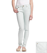 Fire® Juniors' Mint Skinny Jeans