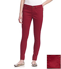 Fire® Juniors' Plum Skinny Jeans