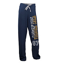 Soffe® Juniors' West Virginia University Fleece Pant