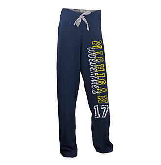 Soffe® Juniors' Michigan Fleece Pant