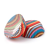 Babycakes® Striped Mini Cupcake Liners