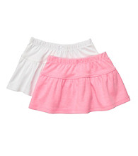 Carter's® Baby Girls' Pink/White 2-pk. Skirts