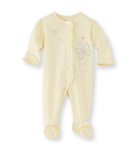 Little Me® Baby Girls' Yellow Butterfly Footie
