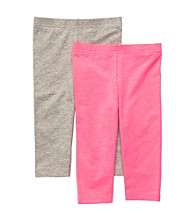 Carter's® Girls' 2T-4T Pink/Grey 2-pk. Leggings