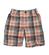 OshKosh B'Gosh® Boys' 2T-4T Plaid Woven Shorts