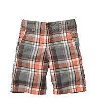 OshKosh B'Gosh® Boys' 4-7 Plaid Woven Shorts