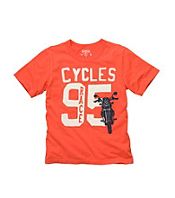 OshKosh B'Gosh® Boys' 4-7 Orange Short Sleeve
