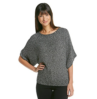 Chaus Boatneck Marled Sweater