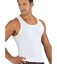 Jockey® Men's Big & Tall White Classic 2-Pack A-Shirts