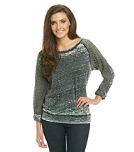 Awake Top with Lace Sleeves