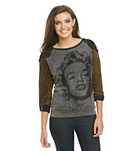 Awake Marilyn Sweatshirt with Lace Detail