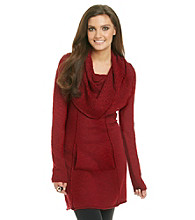 Kensie® Cowlneck Sweater Dress