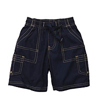 OshKosh B'Gosh® Boys' 2T-7 Navy Volleyball Shorts
