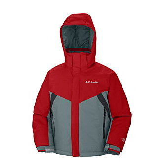 Columbia Boys' 4-20 Grey Glacier Slope™ Jacket