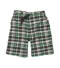 Carter's® Boys' 2T-7 Grey Plaid Pull-On Shorts