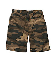 Carter's® Boys' 2T-7 Brown Camo Pull-On Shorts