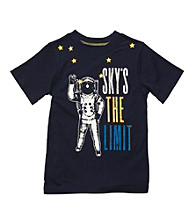 Carter's® Boys' 4-7 Navy Short Sleeve Sky's the Limit Tee