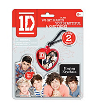 One Direction Heart Shaped Musical Keychain