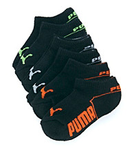 PUMA® Boys' 6-pk. Runner Socks - Black
