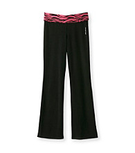 Mambo® Girls' 7-16 Zebra Yoga Pants