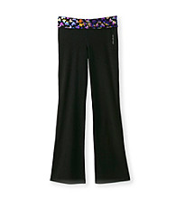 Mambo® Girls' 7-16 Multi Hearts Yoga Pants