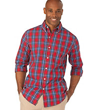Chaps® Men's Red Beckworth Plaid Woven