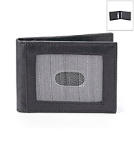 Kenneth Roberts Platinum® Men's Front Pocket Blackbrass Wallet