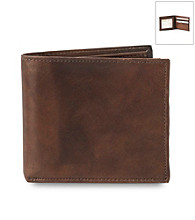 Kenneth Roberts Platinum® Men's Flipfold Blackbrass Wallet