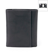 Kenneth Roberts Platinum® Men's Trifold Blackbrass Wallet